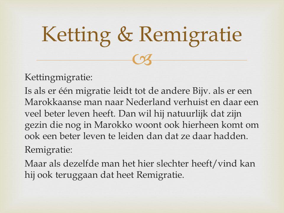Ketting & Remigratie