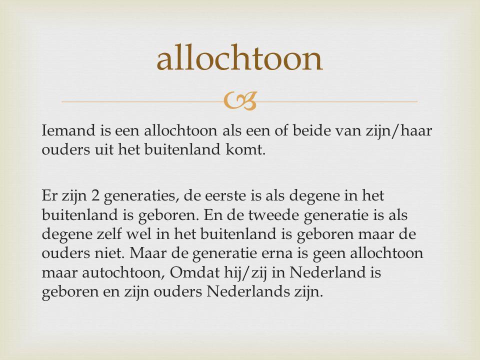 allochtoon