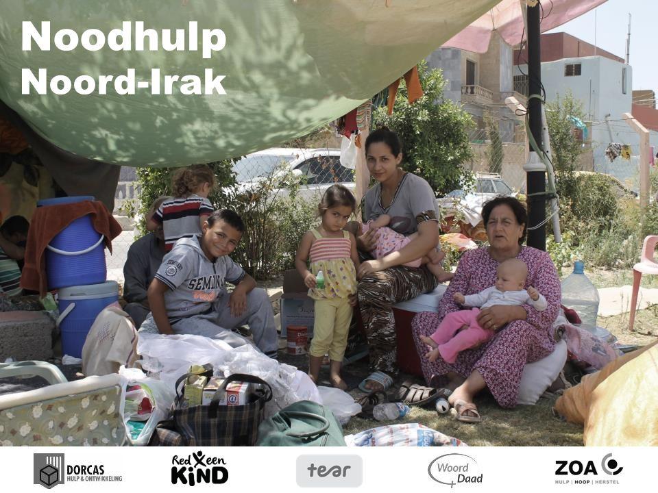Noodhulp Noord-Irak