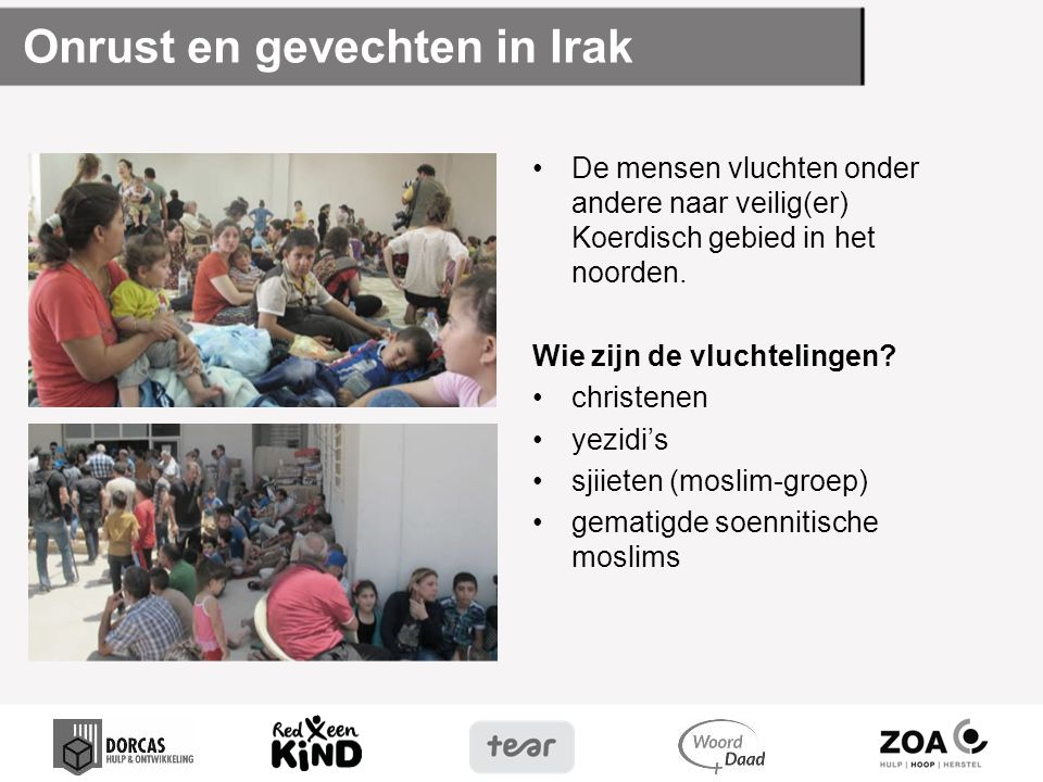 Onrust en gevechten in Irak