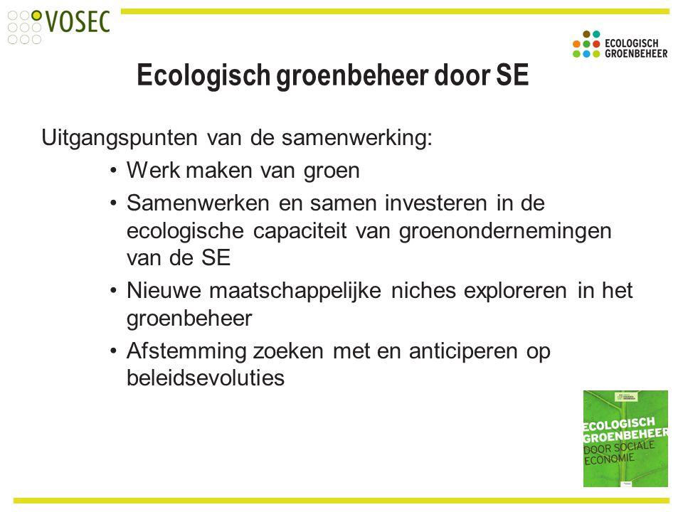 Ecologisch groenbeheer door SE