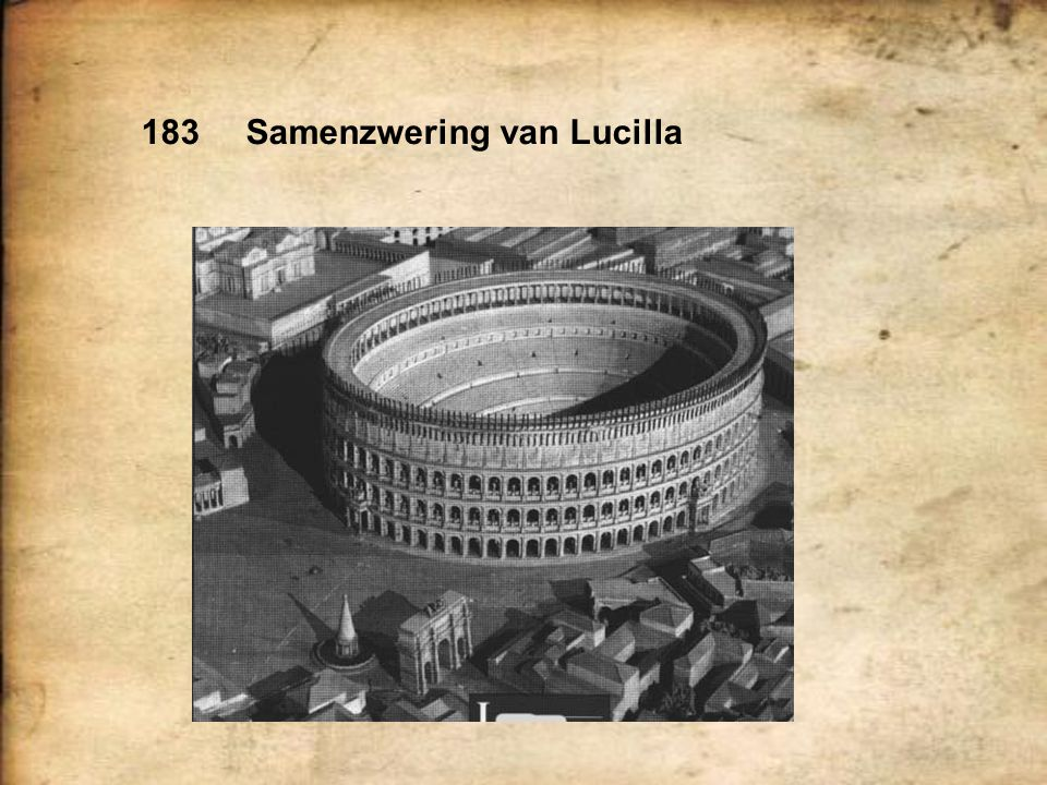 183 Samenzwering van Lucilla