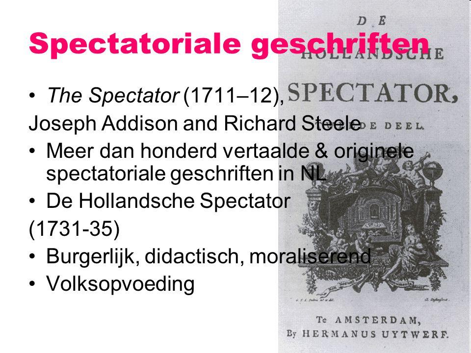 Spectatoriale geschriften
