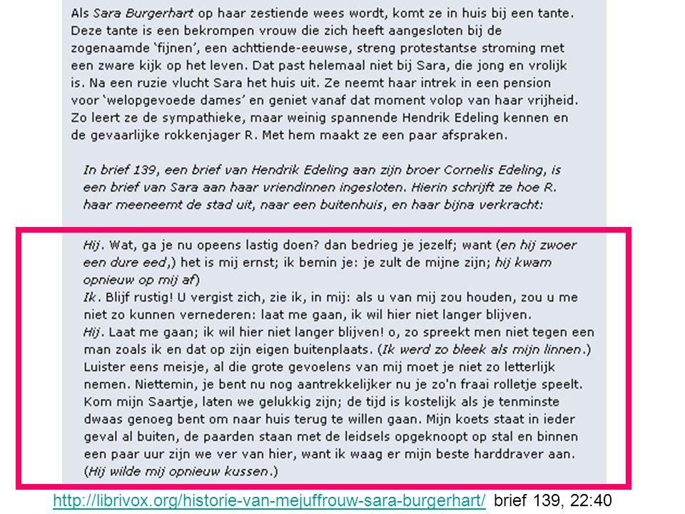 http://librivox.org/historie-van-mejuffrouw-sara-burgerhart/ brief 139, 22:40
