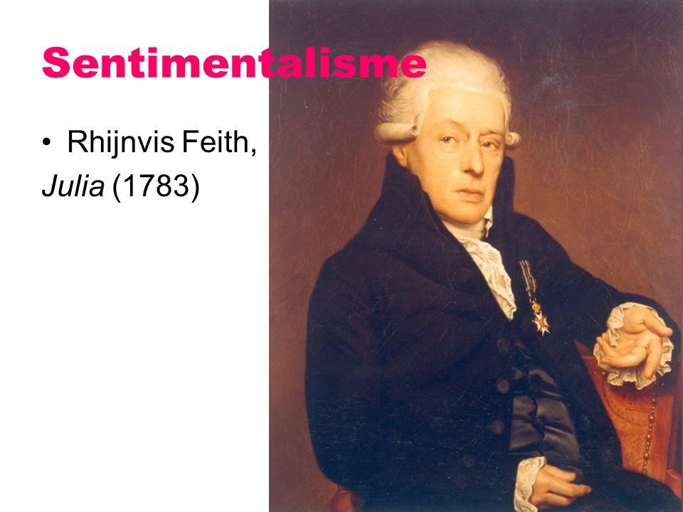 Sentimentalisme Rhijnvis Feith, Julia (1783)