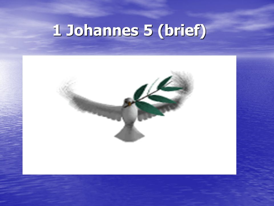 1 Johannes 5 (brief)