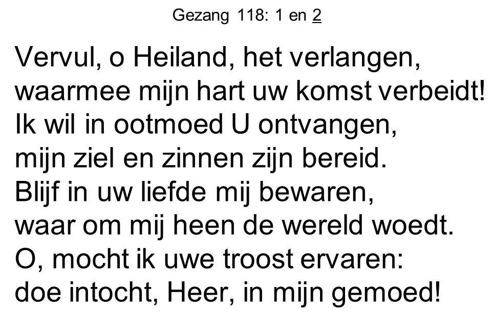 Gezang 118: 1 en 2