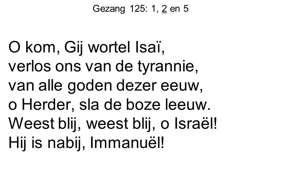 Gezang 125: 1, 2 en 5