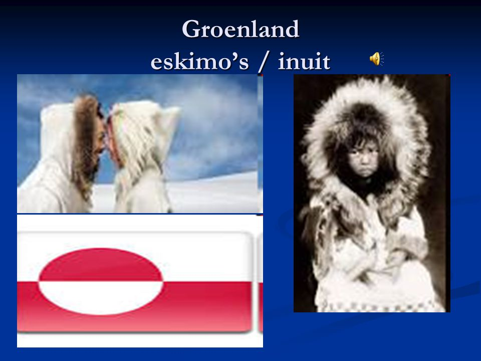 Groenland eskimo's / inuit