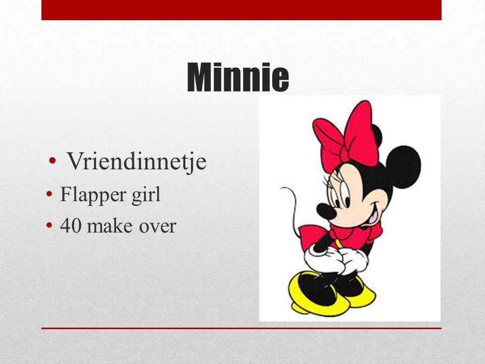 Minnie Vriendinnetje Flapper girl 40 make over