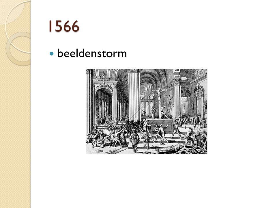 1566 beeldenstorm