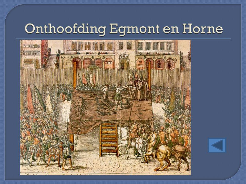 Onthoofding Egmont en Horne