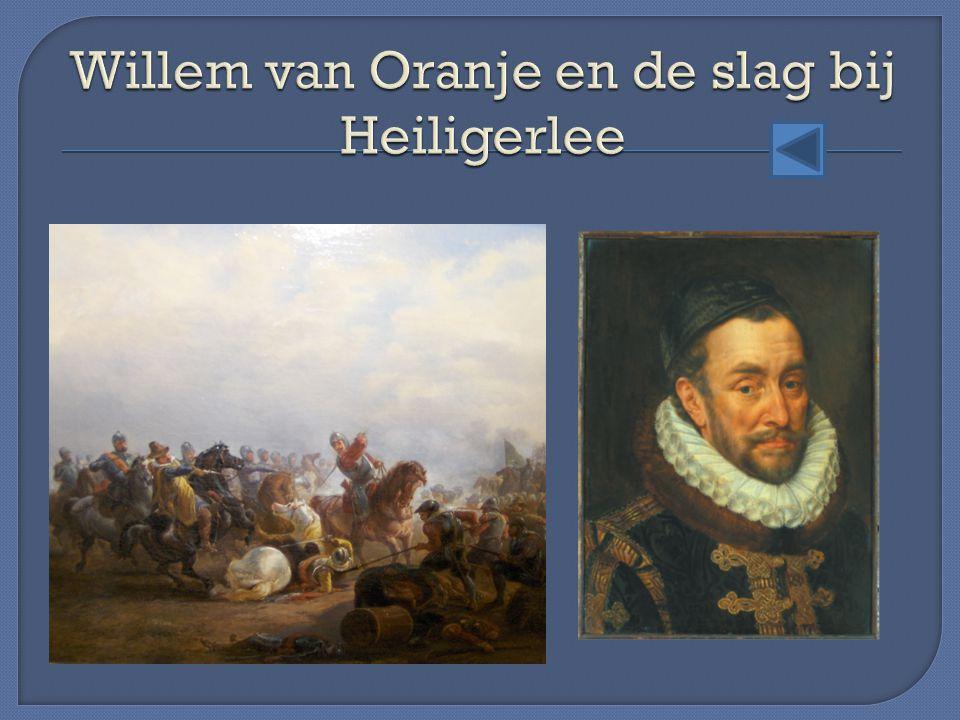Willem van Oranje en de slag bij Heiligerlee