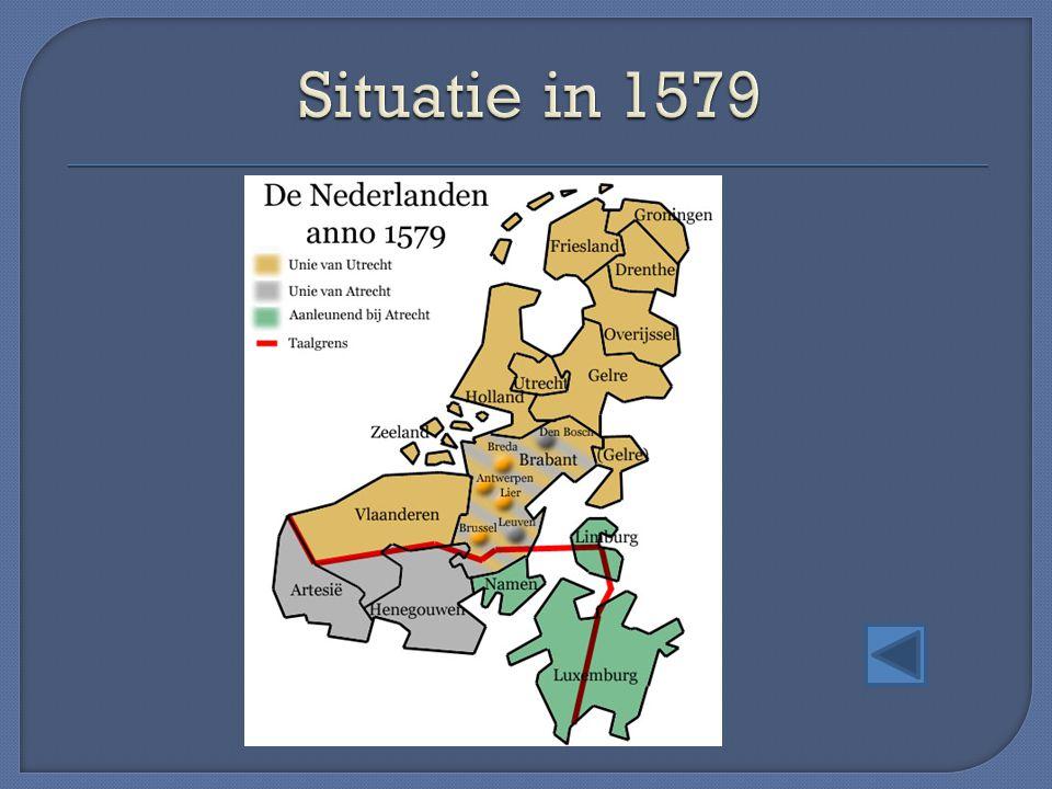 Situatie in 1579