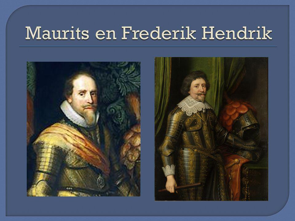 Maurits en Frederik Hendrik