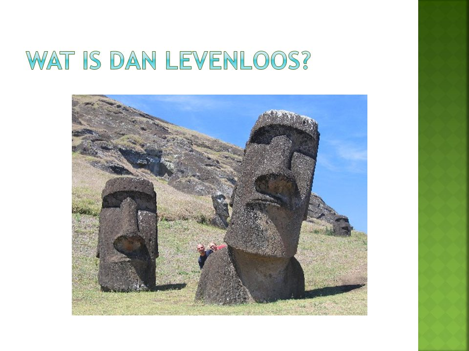 Wat is dan Levenloos