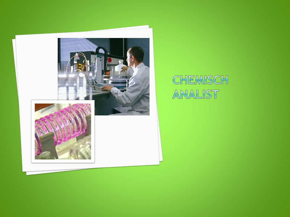Chemisch analist