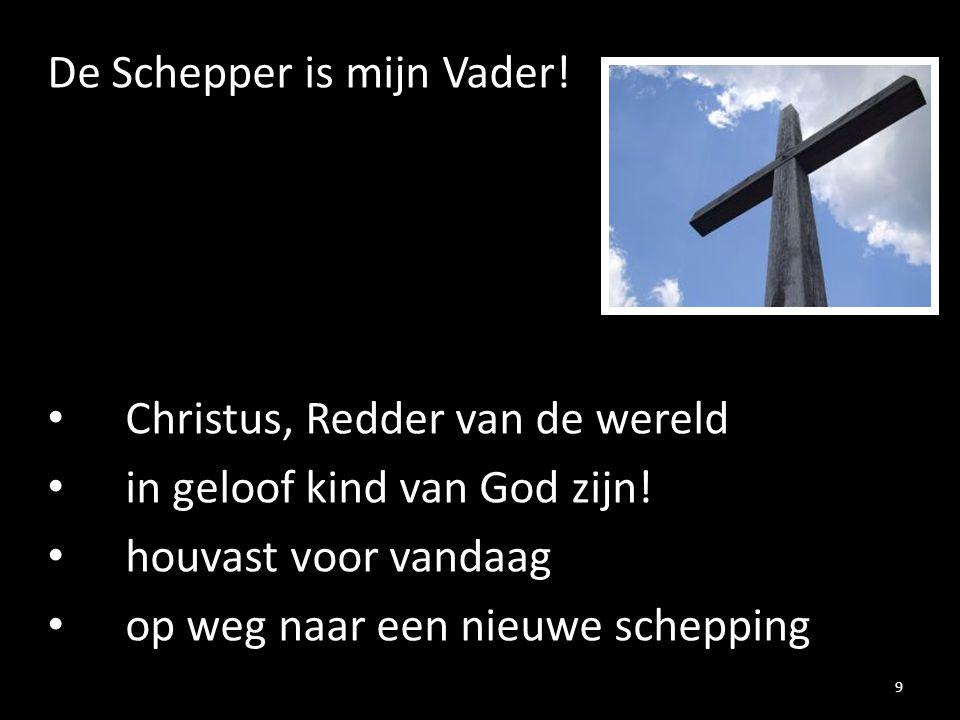 De Schepper is mijn Vader!
