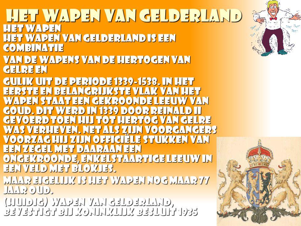 Het wapen van gelderland