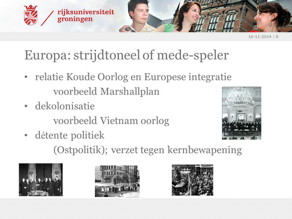 Europa: strijdtoneel of mede-speler