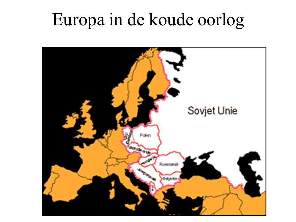 Europa in de koude oorlog