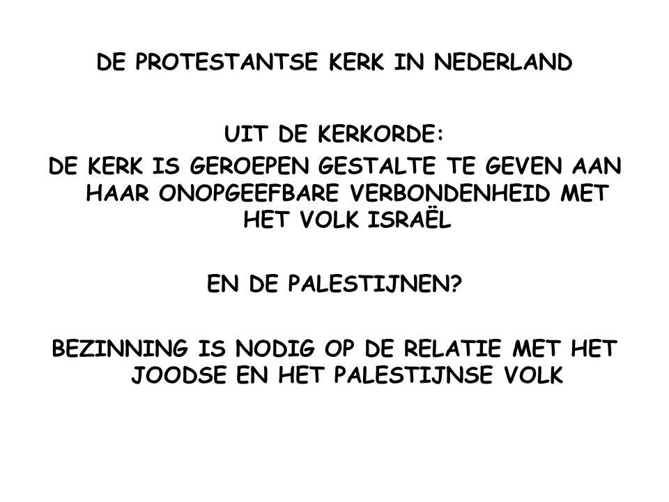 DE PROTESTANTSE KERK IN NEDERLAND