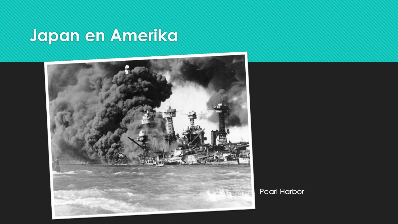 Japan en Amerika Pearl Harbor