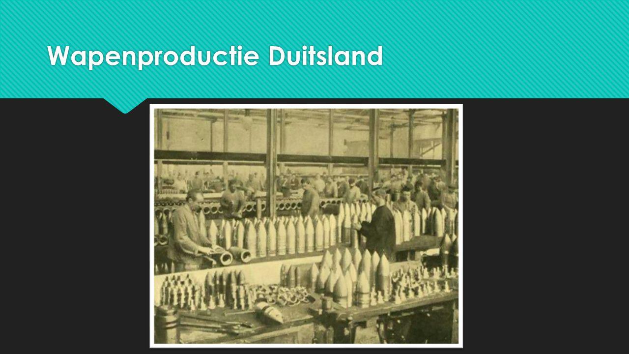 Wapenproductie Duitsland