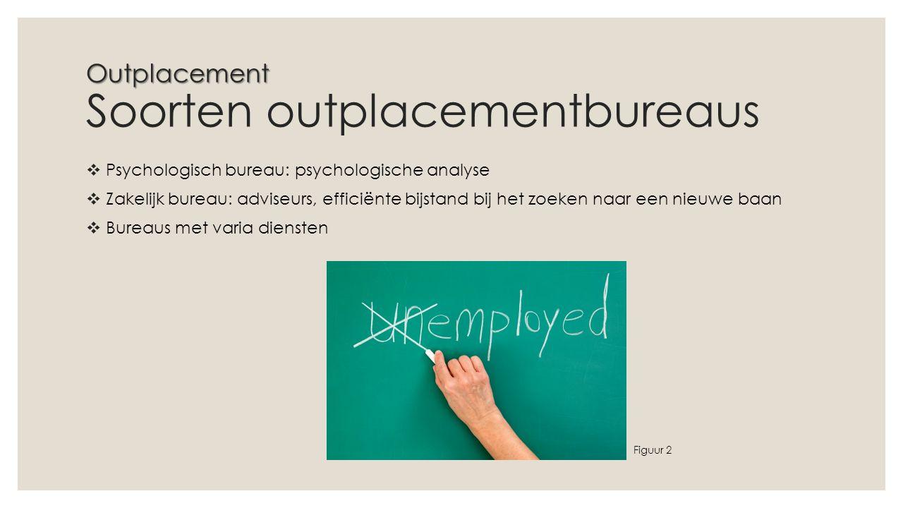 Outplacement Soorten outplacementbureaus