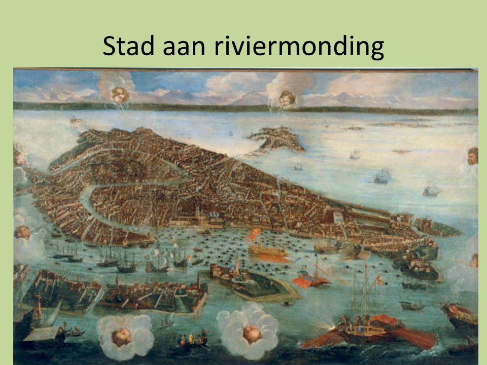 Stad aan riviermonding