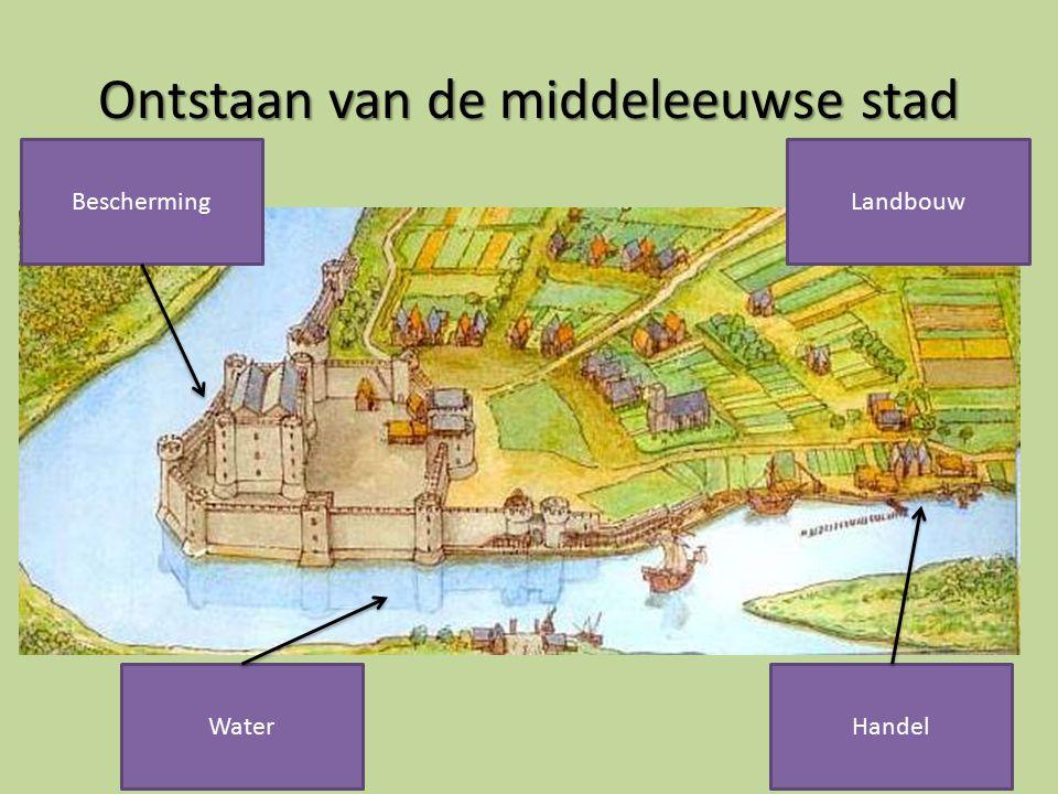 Ontstaan van de middeleeuwse stad