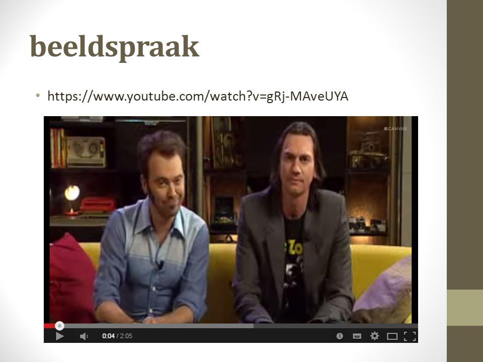 beeldspraak https://www.youtube.com/watch v=gRj-MAveUYA