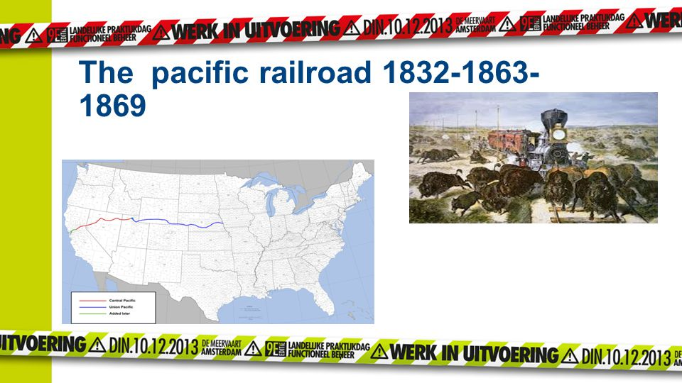 The pacific railroad 1832-1863-1869