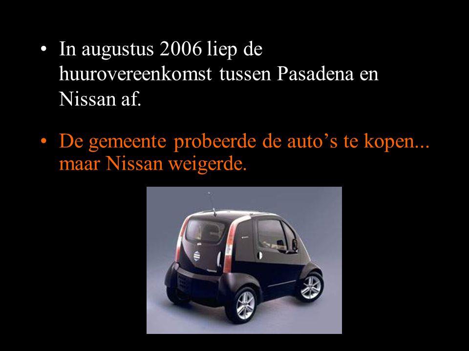 In augustus 2006 liep de huurovereenkomst tussen Pasadena en Nissan af.