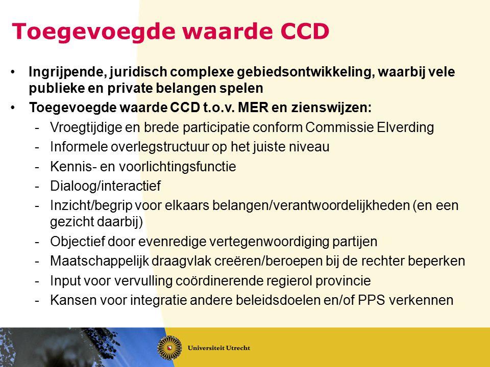 Toegevoegde waarde CCD