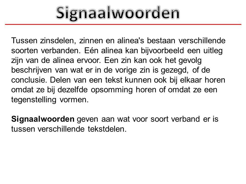 Signaalwoorden