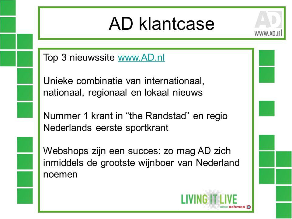 AD klantcase Top 3 nieuwssite www.AD.nl