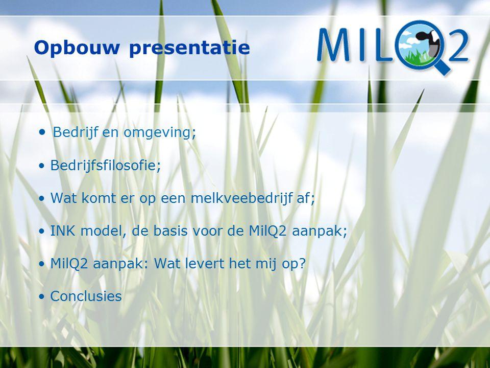 Opbouw presentatie • Bedrijf en omgeving; • Bedrijfsfilosofie;