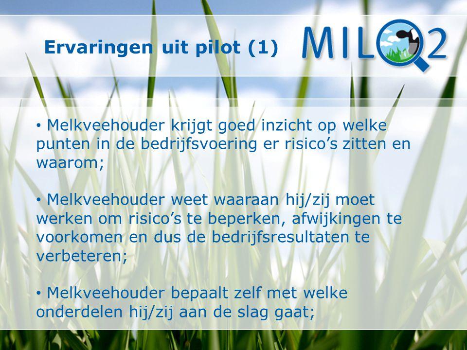 Ervaringen uit pilot (1)