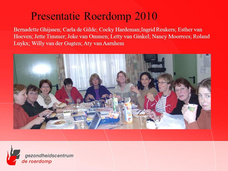 Presentatie Roerdomp 2010