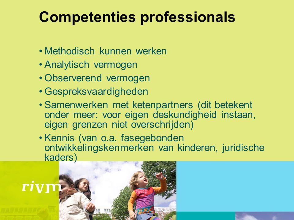 Competenties professionals
