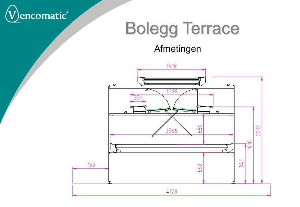 Bolegg Terrace Afmetingen