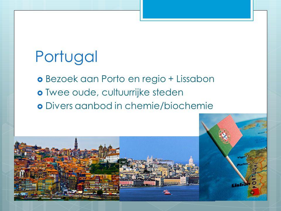 Portugal Bezoek aan Porto en regio + Lissabon