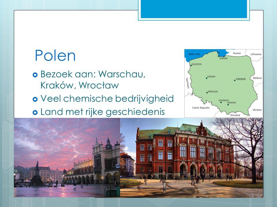 Polen Bezoek aan: Warschau, Kraków, Wrocław