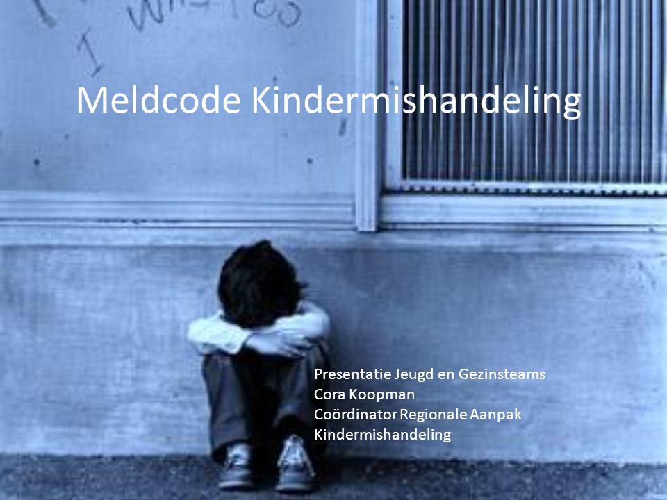 Meldcode Kindermishandeling