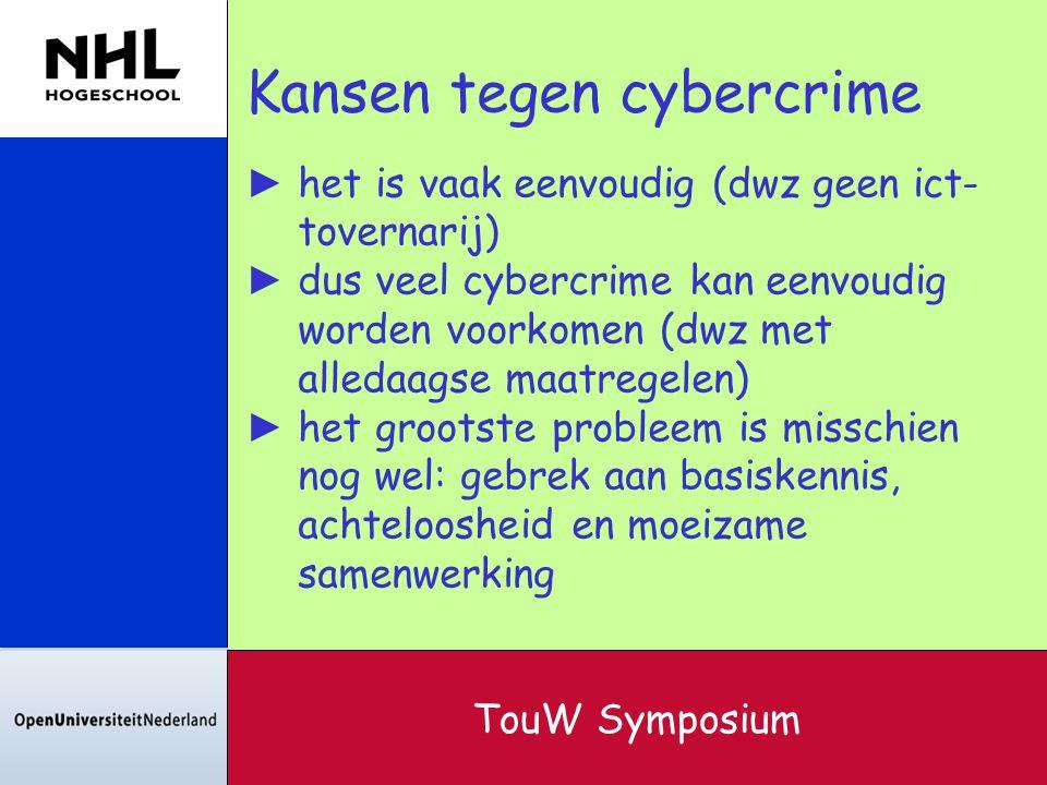 Kansen tegen cybercrime
