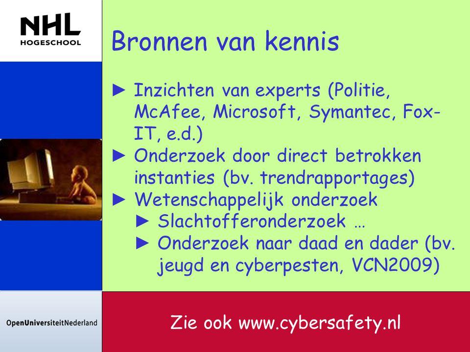 Zie ook www.cybersafety.nl