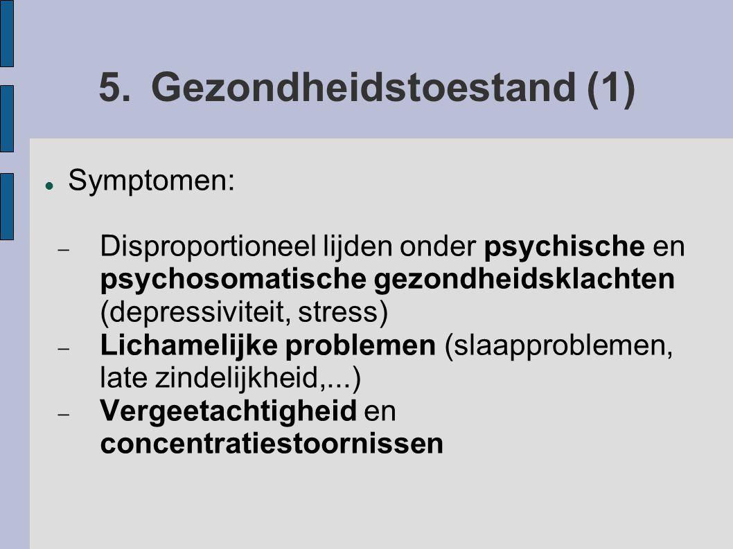 5. Gezondheidstoestand (1)