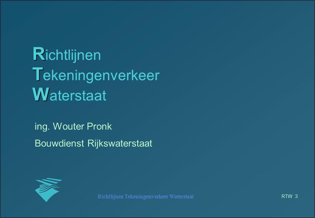 Richtlijnen Tekeningenverkeer Waterstaat
