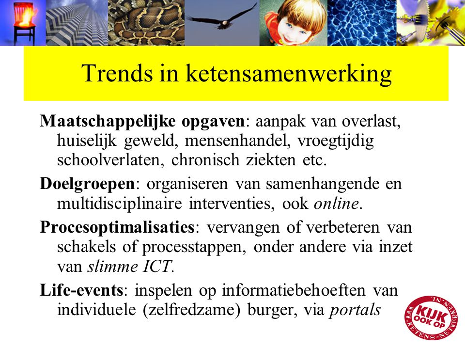 Trends in ketensamenwerking